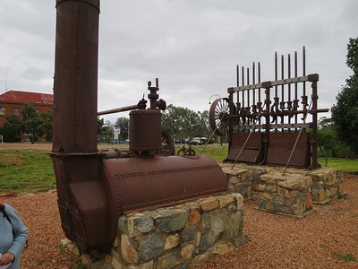 Machinery - Cobar, New South Wales