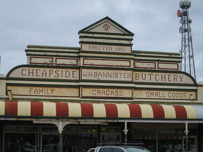 The Old Butchers Shop - Cobar, New South Wales