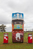 """1977 HZ Ute - Condobolin, New South Wales<br /> """"Epitaph to Fossil Fuels"""" Artist: Shane Gehlert"""