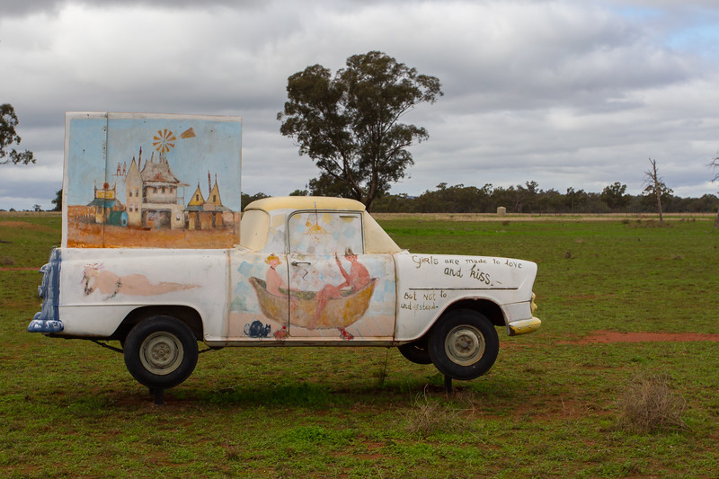 "1961 EK Ute - Condobolin, New South Wales<br /> ""Central West Medley"" Artist: Eris Fleming"