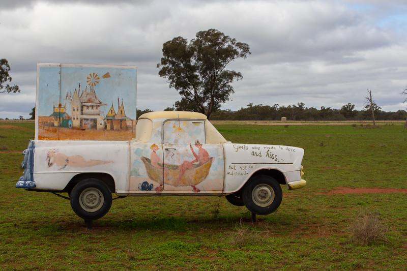 "1961 EK Ute - Condobolin, New South Wales<br /> ""Central West Medley"" Artist: Eris Fleming"