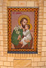 """Farm Chapel  """"Christ the King"""" on Farm """"Bolo"""" - Condobolin, New South Wales. Mosaic of St Joseph, patron of workers and farmers."""