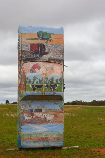 """1970 HG Ute - Condobolin, New South Wales<br /> """"Golden Valley"""" Artist: Greg Brennan"""