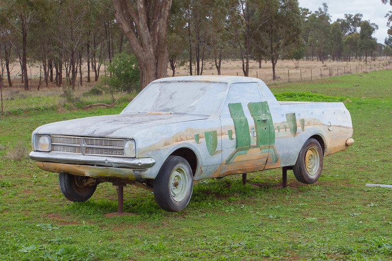 "1968 HK Ute - Condobolin, New South Wales<br /> ""Simple Pleasures"" Artist: Leo Robba"