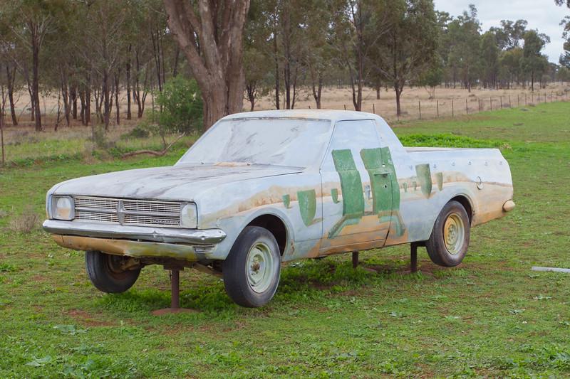 "1968 HK Ute - Condobolin, New South Wales<br /> ""Simple Pleasures"" Artist: Leo Robba"