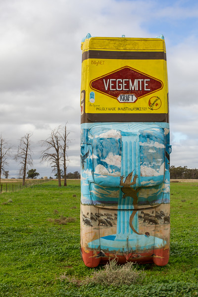 "1960 FB Ute - Condobolin, New South Wales<br /> ""Go Vegemite"" Artist: Rob Keen"