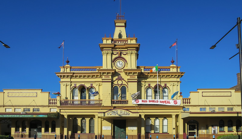 Town Hall (circa 1887) - Glen Innes, New South Wales