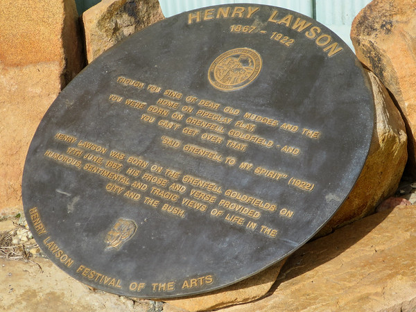 Henry Lawson Birthplace - Grenfell, New South Wales