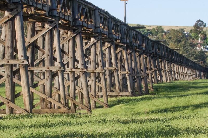 Trestle Bridge - Gundagai, New South Wales
