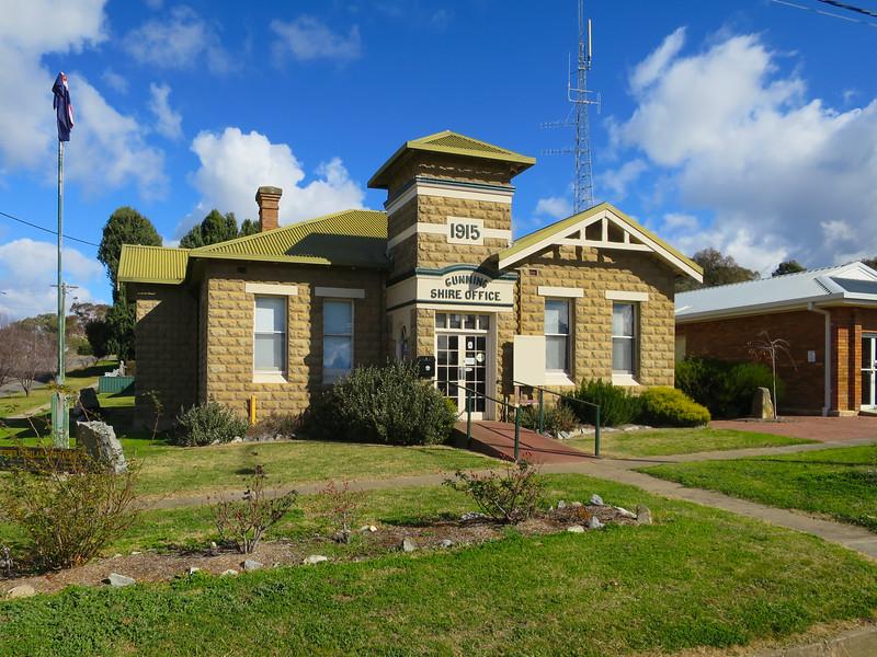 Gunning Shire Office (circa 1915) - Gunning, New South Wales