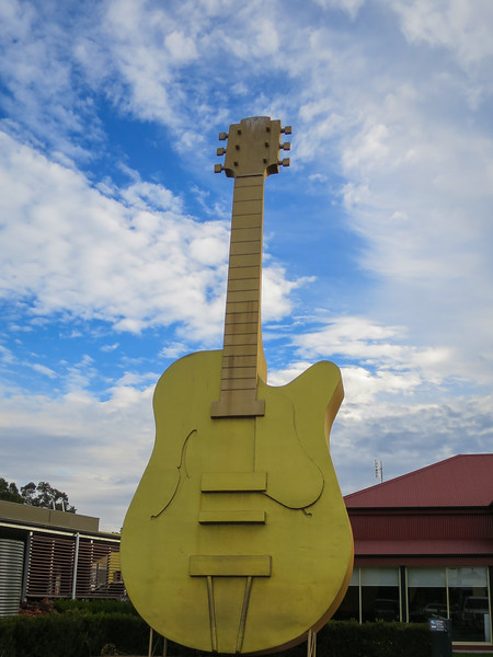 Golden Guitar - Tamworth, New South Wales