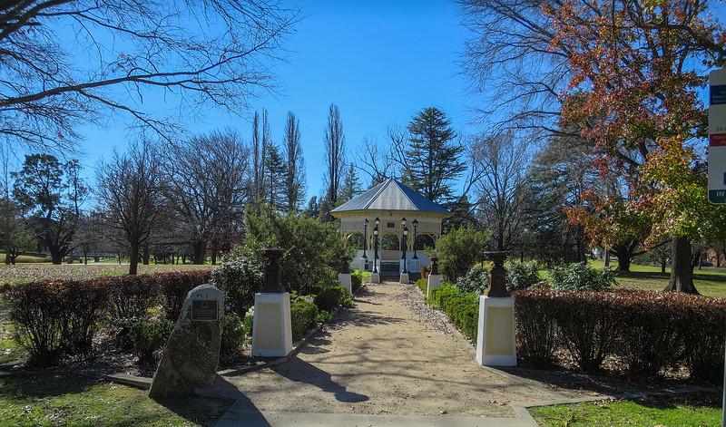 Jubilee Park Rotunda - Tenterfield, New South Wales