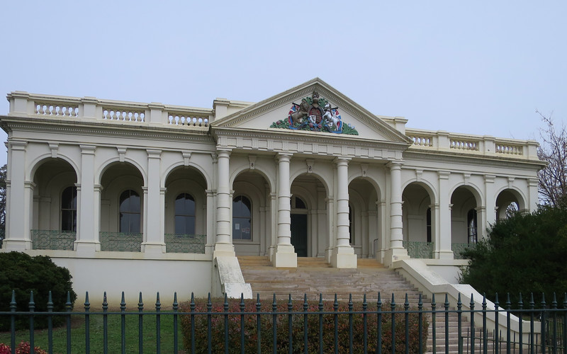 Courthouse (opened 1880) - Yass, New South Wales. Designed by Colonial Architect, James Barnet