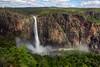 Wallaman Falls - Girringun National Park, Queensland.<br /> Australia's largest single drop waterfall.