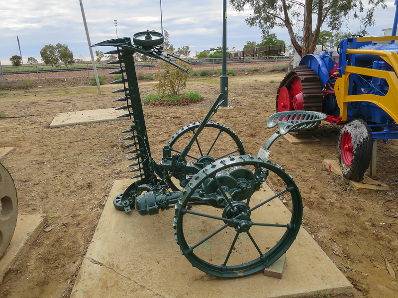 Horse Drawn Mower - Ilfracombe, Queensland