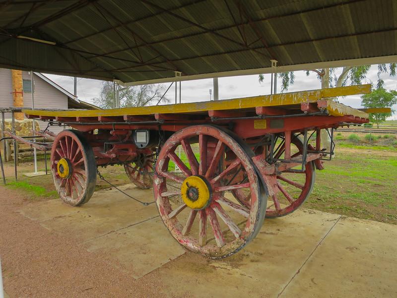 Wool Wagon - Ilfracombe, Queensland