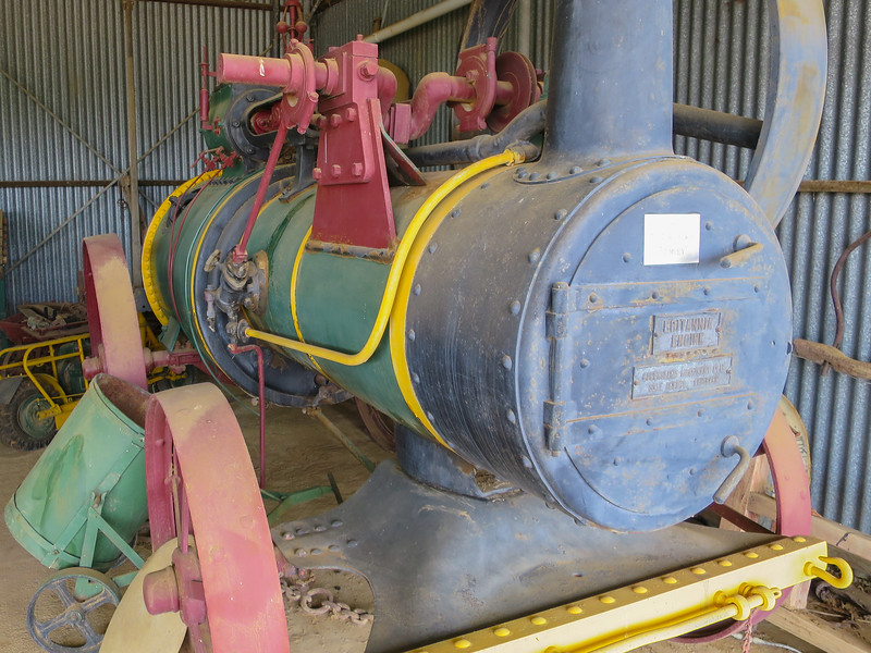Britannia Engine - Ilfracombe, Queensland