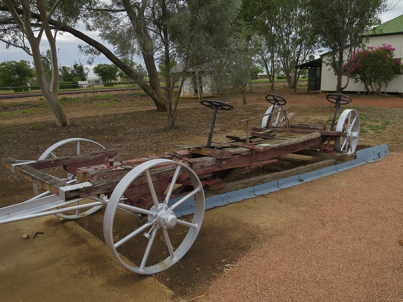 Old Comet Fire Plough - Ilfracombe, Queensland