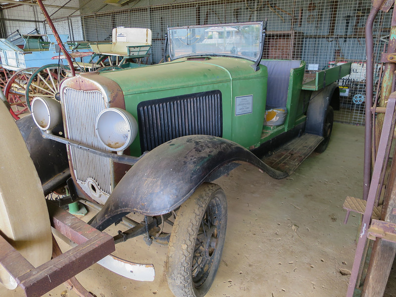 Dodge 4 - Ilfracombe, Queensland<br /> 1932 Model, D.M. Series. Side valve made in Wndsor Ontario, Canada. Only 2,000 of these were built