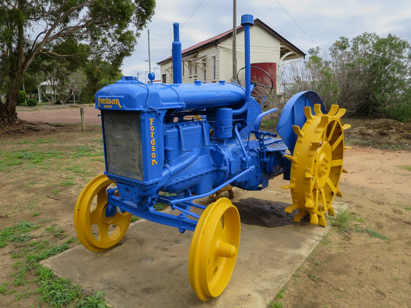 Fordson Tractor - Ilfracombe, Queensland