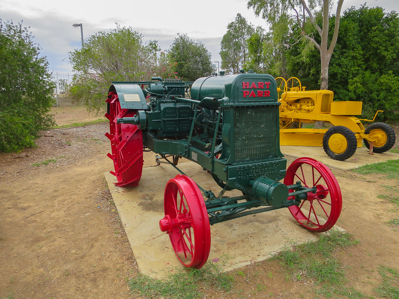 1918 Model Hart-Parr Kerosene tractor - Ilfracombe, Queensland.<br /> Reportedly, this company was the founder of the tractor industry in the U.S.A.