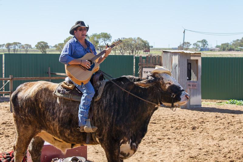 Lachie Cossor & Jigsaw, Australian Stockman's Show - Longreach, Queensland