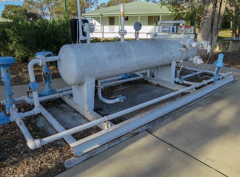 Horizontal Oil & Gas Separator - Moonie, Queensland