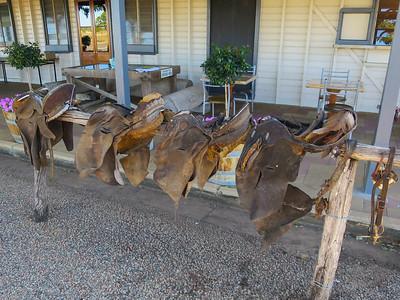 Old Saddles - Prairie, Queensland