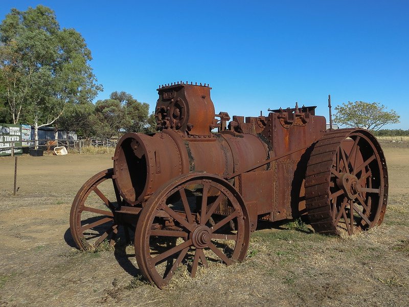 Old Machinery - Prairie, Queensland