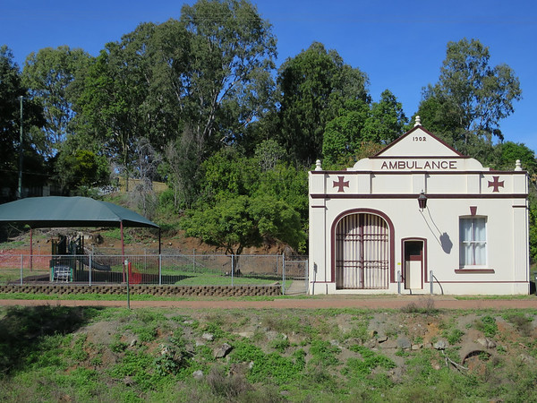 Ambulance Station -  - Ravenswood, Queensland Established in 1902 and still in use for RFDS clinics