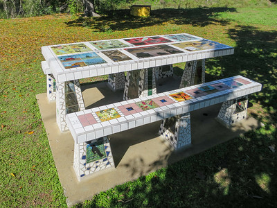 Mosaic Table - Ravenswood, Queensland
