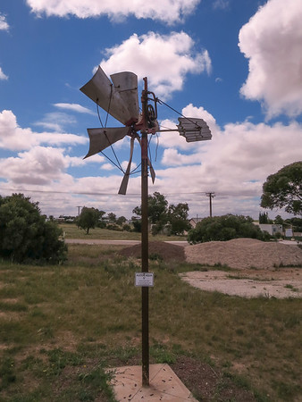 Alston Aqua 5' Windmill - Penong Windmill Museum - Penong, South Australia. Made 1932-1934. On loan from Kloock Family (Coorabie via Fowlers Bay)