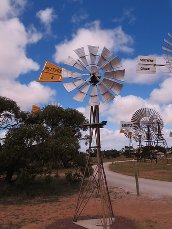 Metters K 6' Windmill - Penong Windmill Museum - Penong, South Australia. Made 1934-1958. On loan from Greg Warmington.