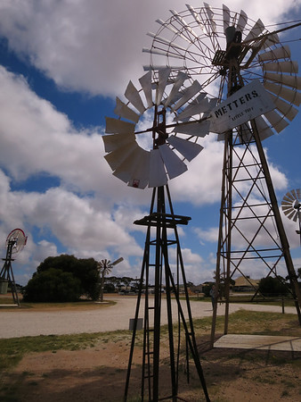 Metters Little Toff 6' Windmill - Penong Windmill Museum - Penong, South Australia. Made 1912-1930 On loan from Greg Warmington.