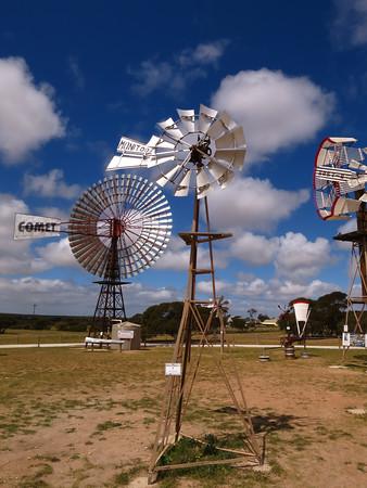 Monitor Model V 5' Windmill - Penong Windmill Museum - Penong, South Australia. Made 1903-1930 On loan from John Nielsen & Bruce Hewittson