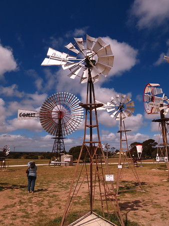 Metters 5' Windmill - Penong Windmill Museum - Penong, South Australia. Made 1934-1958 On loan from Greg Warmington