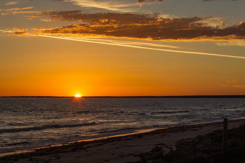 Sunset - Port Gibbon, South Australia