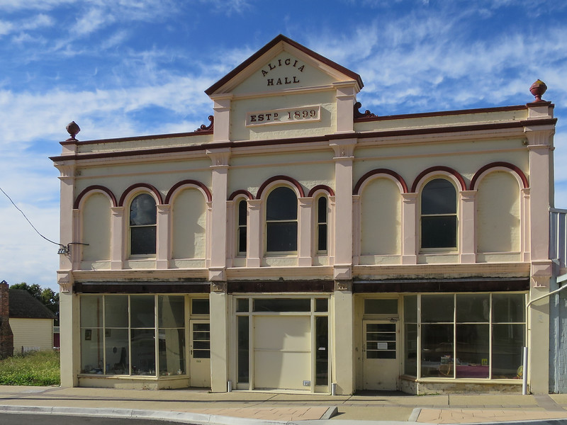 Alicia Hall Beaconsfield, Tasmania<br /> Named in 1899 by Thomas Henry Walduck after his eldest daughter.