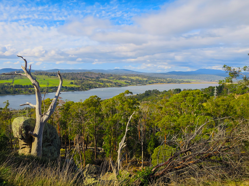Brady's Lookout - Tamar Valley, Tasmania<br /> <br /> Matthew Brady (1799 - 1826)<br /> In 1820 Mathew Brady was sentenced to be transported for seven years for stealing food. During four years he received a total of 350 lashes for escape attempts and other misdemeanours. In 1824 Brady escaped from Sarah Island - Macquarie Harbour and was captured in 1826.<br /> Brady was convicted and hanged on May 4th 1826