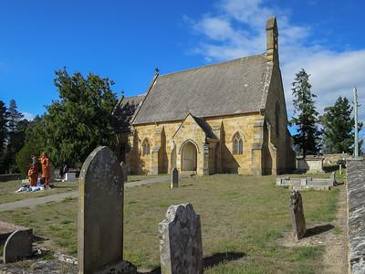 St John the Baptist Church - Buckland, Tasmania Built 1846