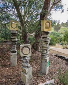 Tasmanian Bushland Garden - Buckland, Tasmania The Block Family by Damon Wills