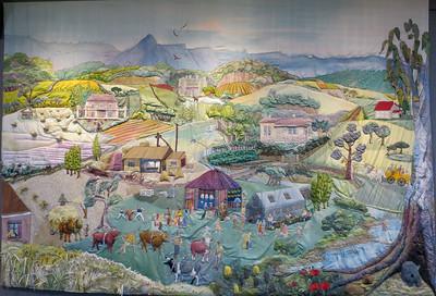 Yarns Artwork in Silk - Deloraine, Tasmania