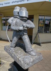 Smokies  (in recognition of Brigade Volunteers) - Deloraine, Tasmania by David Newland