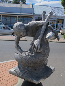 Martys Woolly Jumbuck (Tribute to local shearers) - Deloraine, Tasmania By Annie Zon