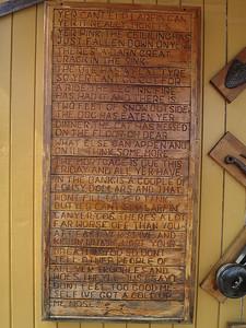 Woodcarving - Geeveston, Tasmania