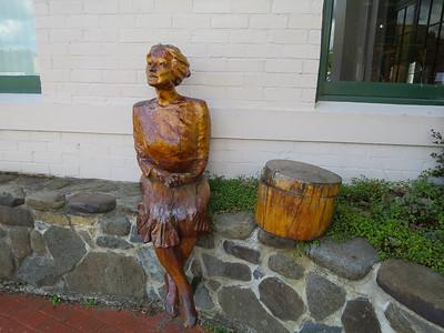 Woodcarving of Jessica Hannabury (1883 - 1981) - Geeveston, Tasmania