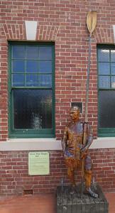 Woodcarving of Simon Peter Burgess (1967 - present ) - Geeveston, Tasmania