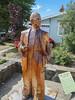 King Billy pine woodcarving of Bill Trevaskis (1914 - 1999) - Geeveston, Tasmania<br /> By Bernie Tarr