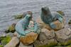 Bronze Statues at Salamanca Harbour - Hobart, Tasmania
