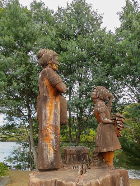 Timber Carving - Huonville, Tasmania